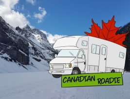 Canadian Roadie: What a difference a day makes.
